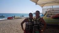 Vor dem BANANA-Boot fahren in der Türkei